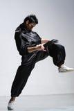 Hombre del baile Foto de archivo libre de regalías