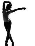 Hombre del baile del bailarín del canguelo del salto de la cadera Fotos de archivo