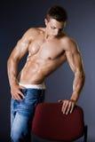 Hombre del Bodybuilder Imágenes de archivo libres de regalías