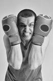 Hombre del boxeador Foto de archivo libre de regalías