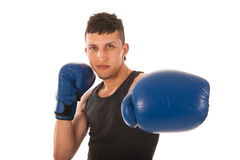 Hombre del boxeo Foto de archivo