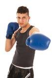 Hombre del boxeo Fotos de archivo libres de regalías
