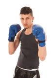 Hombre del boxeo Fotos de archivo