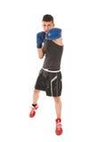 Hombre del boxeo Foto de archivo libre de regalías