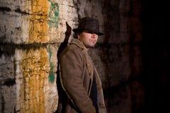 Hombre del callejón Fotografía de archivo