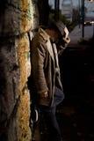 Hombre del callejón Foto de archivo