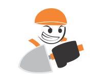 Hombre del constructor Imágenes de archivo libres de regalías