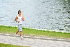 Hombre del deporte que activa Foto de archivo