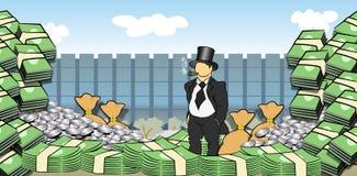 Hombre del dinero ilustración del vector