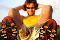 Hombre del ejercicio Foto de archivo libre de regalías