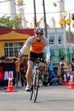 Hombre 2014 del hierro de Malasia el comienzo de la bici del 180km Fotografía de archivo