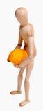 Hombre del huevo Imagen de archivo libre de regalías
