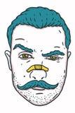Hombre del inconformista Imagen de archivo libre de regalías