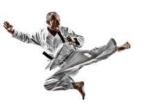 Hombre del karate Fotos de archivo