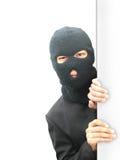 Hombre del ladrón Imágenes de archivo libres de regalías