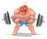 Hombre del músculo libre illustration