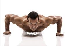 Hombre del músculo foto de archivo