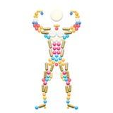 Hombre del músculo Imagenes de archivo