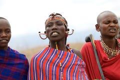 Hombre del Masai Foto de archivo libre de regalías