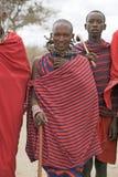 Hombre del Masai Imagen de archivo libre de regalías
