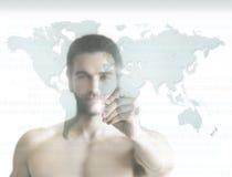 Hombre del mundo Imagen de archivo