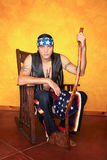 Hombre del nativo americano Fotos de archivo libres de regalías