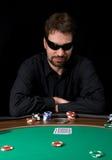 Hombre del póker Imagenes de archivo