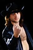 Hombre del rock-and-roll Fotografía de archivo