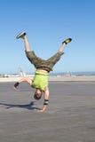 Hombre del salto de la cadera Imagenes de archivo