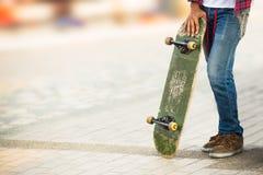 Hombre del skater Foto de archivo