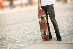 Hombre del skater Fotos de archivo libres de regalías