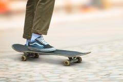 Hombre del skater Fotos de archivo