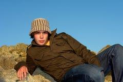 Hombre del sombrero Fotos de archivo libres de regalías