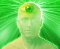 Hombre del tercer ojo Imagen de archivo libre de regalías