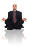 Hombre del zen Imagenes de archivo