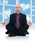 Hombre del zen Foto de archivo libre de regalías