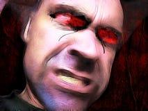 Hombre del zombi Fotografía de archivo libre de regalías