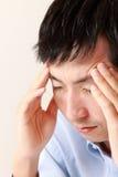 Hombre deprimido Imagen de archivo libre de regalías
