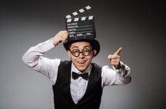 Hombre divertido Foto de archivo libre de regalías