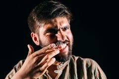 Hombre drogado Imágenes de archivo libres de regalías