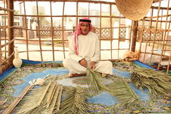 Hombre Dubai Abu Dhabi de Emirati Imagen de archivo libre de regalías