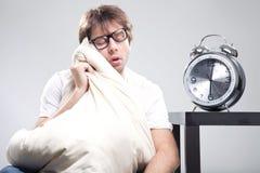 Hombre durmiente Imágenes de archivo libres de regalías