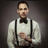 Hombre elegante Fotografía de archivo libre de regalías