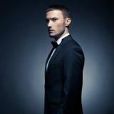 Hombre elegante hermoso Imagen de archivo
