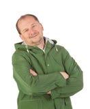 Hombre en chaleco largo Imagen de archivo libre de regalías