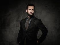 Hombre en chaqueta Fotografía de archivo libre de regalías