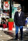 Hombre en chaqueta elegante fotos de archivo libres de regalías