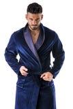 Hombre en desnudar del noche-traje Imagen de archivo libre de regalías