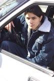 Hombre en el coche Fotografía de archivo libre de regalías