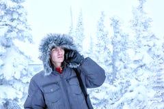 Hombre en el norte foto de archivo libre de regalías